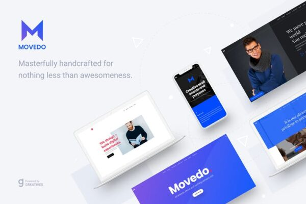 MoveDo - Responsive Multipurpose WordPress theme 1