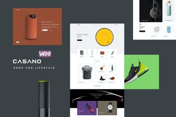 Casano - WooCommerce Theme For Accessories 1