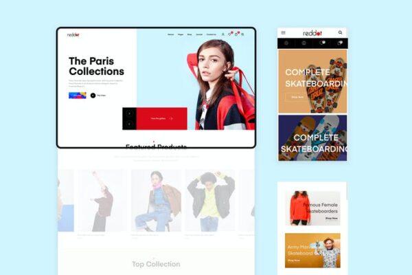 Reddot - Minimal & Modern WooCommerce Theme 1