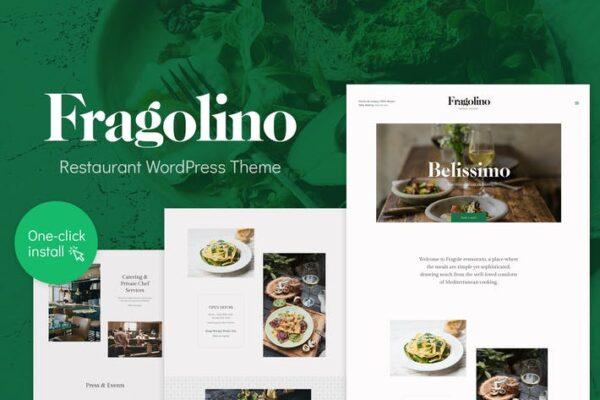 Fragolino - Exquisite Restaurant WordPress Theme 1