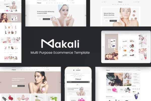 Makali - Cosmetics & Beauty Theme for WooCommerce 1