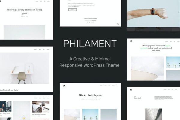 Philament - Photography/Portfolio WP Theme 1