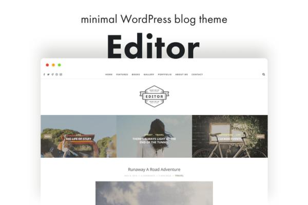 Editor Blog - A WordPress Blog Theme for Bloggers 1