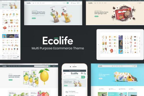 Ecolife - Organic WooCommerce WordPress Theme 1