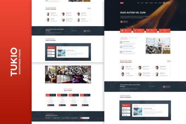 Tukio - Event Landing Page WordPress Theme 1