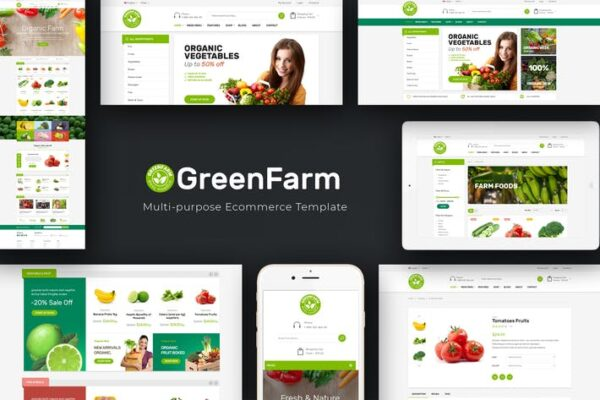 Greenfarm - Organic WooCommerce WordPress Theme 1