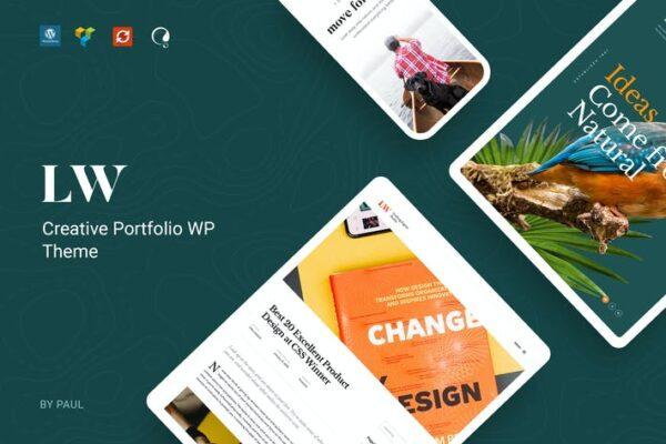 Lewis - Creative Portfolio WordPress Theme 1