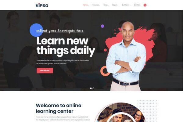 Kipso - Education LMS WordPress Theme 1
