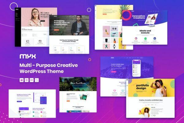 Myx - Multipurpose WordPress theme 1