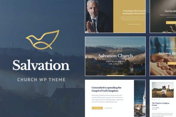 Salvation - Church & Religion WP Theme 1