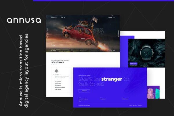 Annusa - Modern Digital Bakery WordPress Theme 1
