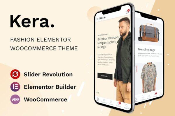 Kera - Fashion Elementor WooCommerce Theme 1