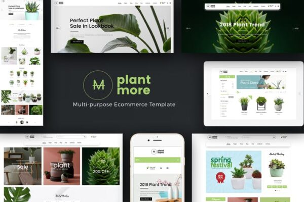 Plantmore - Responsive WooCommerce WordPress Theme 1