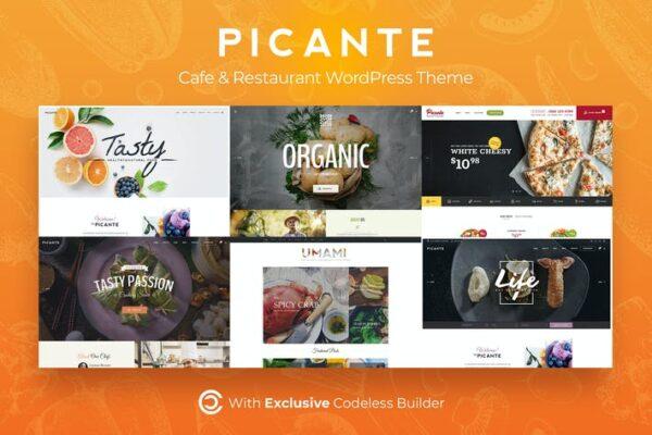 Picante - Restaurant WordPress Theme 1