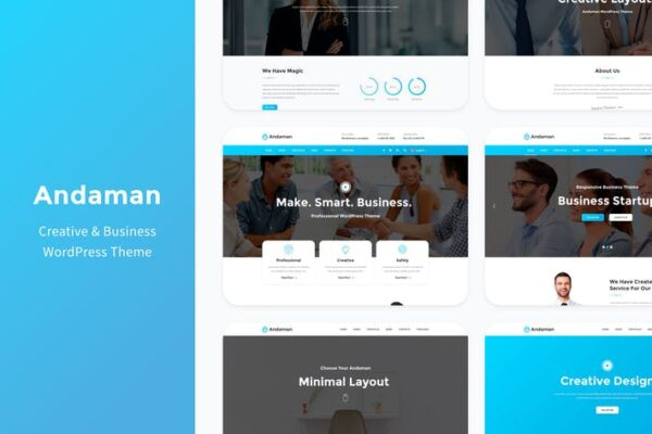 Andaman - Creative & Business WordPress Theme 1