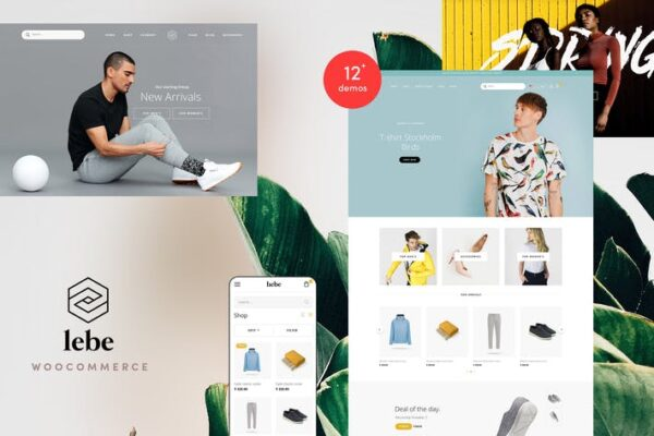 Lebe - Multipurpose WooCommerce Theme 1