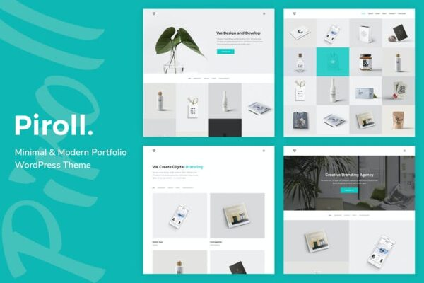 Piroll - Portfolio WordPress Theme 1