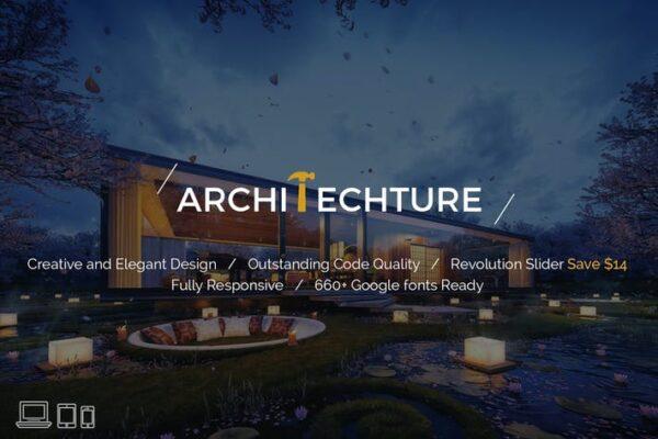 Portfolio, Creative, Theme - Architecture 1