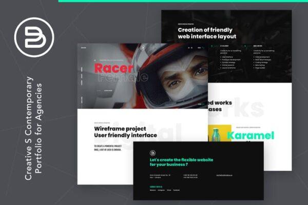 Brabus - Contemporary Portfolio Theme for Agencies 1