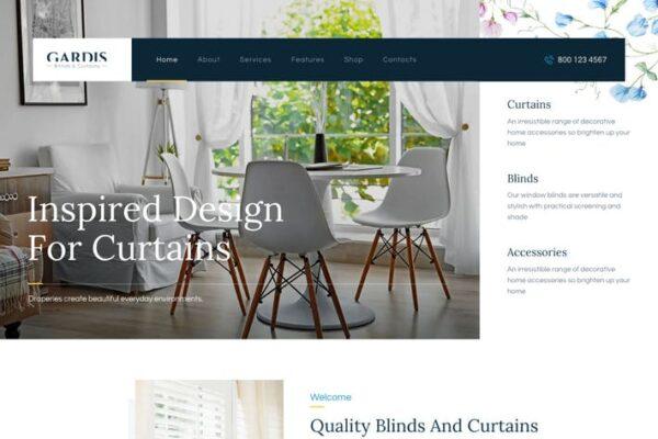 Gardis - Blinds and Curtains Studio & Shop WP 1