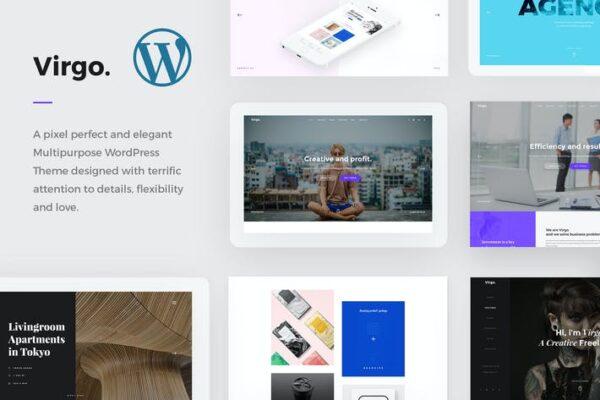 Virgo. - Multipurpose WordPress Theme 1