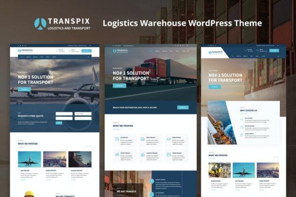 Transpix - Logistics Warehouse WordPress Theme 1