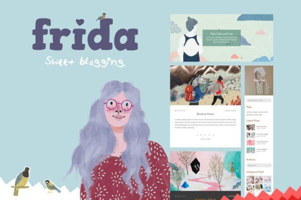 Frida - A Sweet & Classic Blog Theme 1