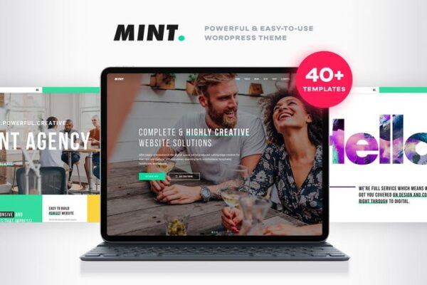 Mint - Creative Multi-Purpose WordPress Theme 1