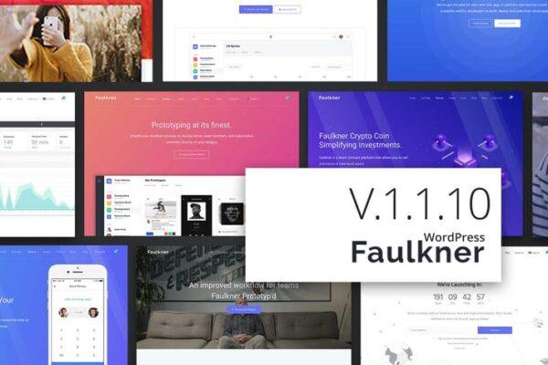 Faulkner Responsive Multiuse WordPress Theme 1