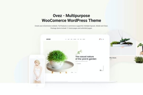 Ovez - Modern Multi-Concept WooCommerce Theme 1
