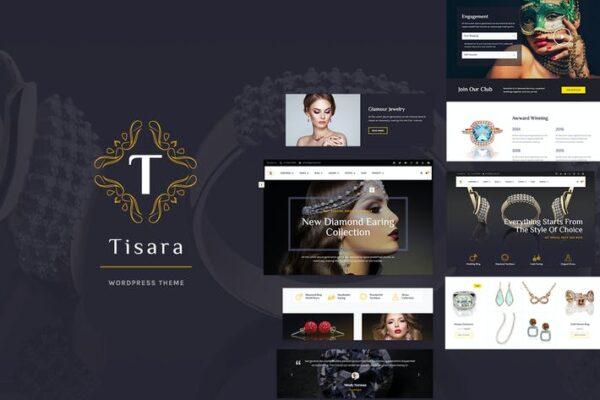 Tisara Jewelry WooCommerce Theme 1