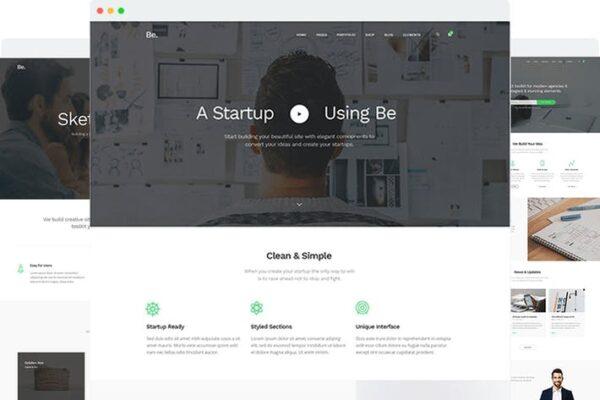 BoTheme - Startup Business WordPress Theme 1