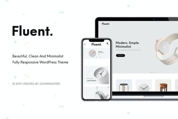 Fluent - Creative Multi-Purpose WooCommerce Theme 1