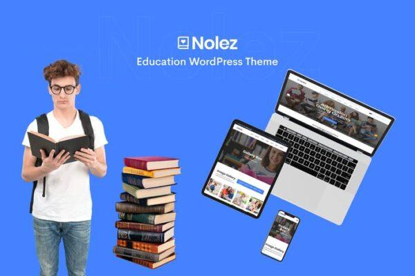 Nolez - Education Elementor WordPress Theme 1