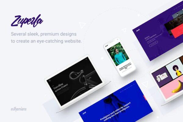 Zuperla - Creative Multipurpose WordPress theme 1