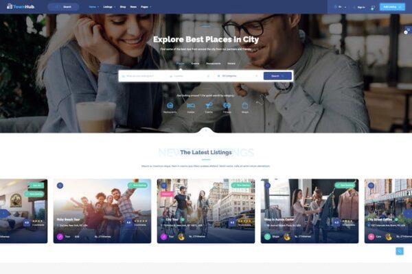 TownHub - Directory & Listing WordPress Theme 1
