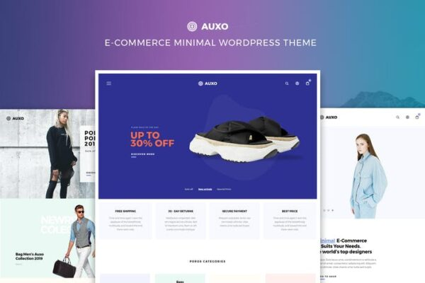 Auxo – Minimal WooCommerce WordPress Theme 1
