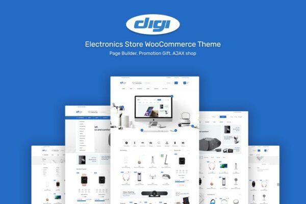 Digi - Electronics Theme for WordPress 1
