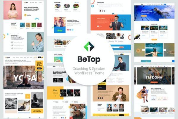 BeTop – Coaching & Speaker WordPress Theme 1