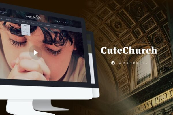 Church, Political, Municipal — CuteChurch WP Theme 1