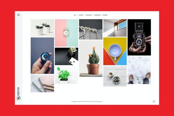 Kassia - Photography WordPress Theme 1