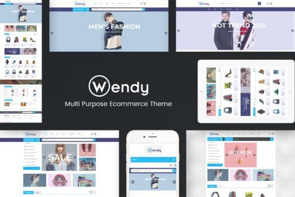 Wendy - Multi Store WooCommerce Theme 1