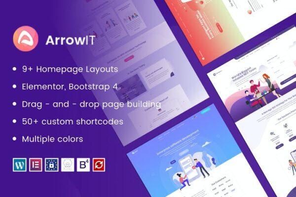 ArrowIT - Technology, Digital WordPress Theme 1