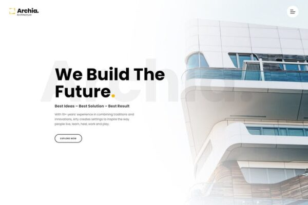 Archia - Architecture & Interior WordPress Theme 1