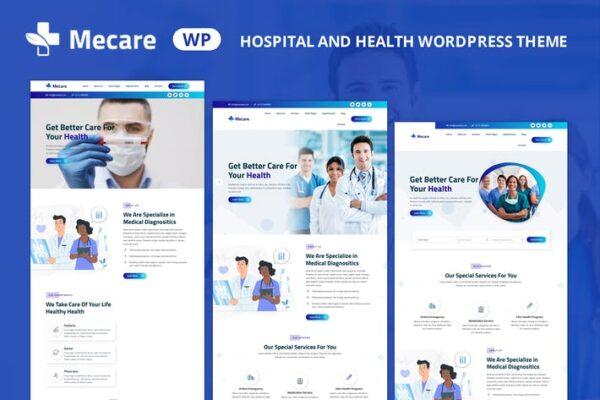 Mecare – Hospital and Health WordPress Theme 1