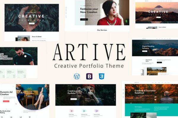 Artive - Creative Portfolio Theme 1
