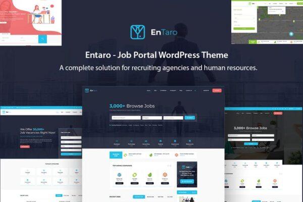 Entaro - Job Portal WordPress Theme 1