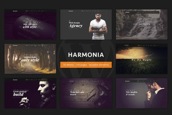 Harmonia - Creative Multi-Purpose WordPress Theme 1
