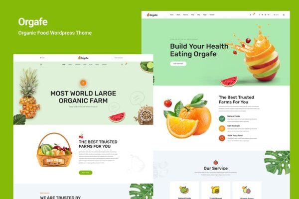 Orgafe - Organic Food WordPress Theme 1