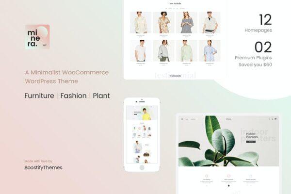 Minera - Minimalist WooCommerce WordPress Theme 1
